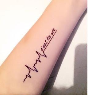 最浪漫的英文纹身短句 跪求个英文纹身短句带翻译 急!
