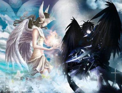 天使与恶魔的悲伤句子