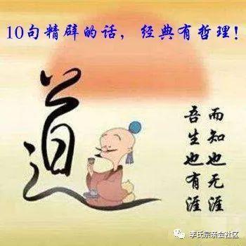 最有生活哲理的十句话 最有哲理的十句话是哪十句?