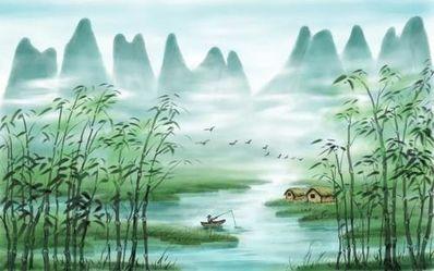 形容山里凉爽的诗句 描写夏天山里流水凉快的诗句