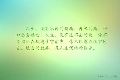 形容优雅人生的句子 描写优雅的句子