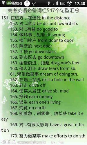 1000句超实用的英语短语 日常用语英语1000句