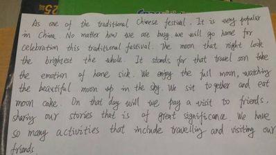 写一篇英语日记5句话 英语日记5句话以上