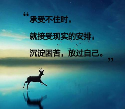 形容无法接受事实的句子 形容改变不了事实只能默默接受的诗句