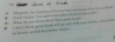 简单的英语对话6句 一篇关于购买衣服的英语对话、6句