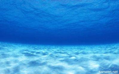 关于深海的唯美短句 和深海有关比较唯美的四字词语