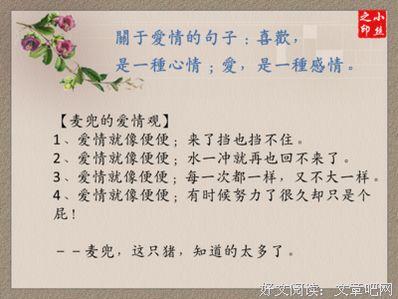 描写男主的句子 小说中描写男主的优美句子谢谢了