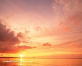 海边夕阳句子唯美短句 描写海边的夕阳的句子有哪些?