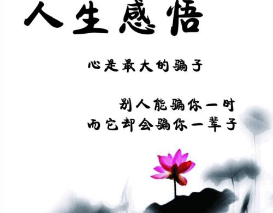 抒写人生的短句子 关于人生的短句子