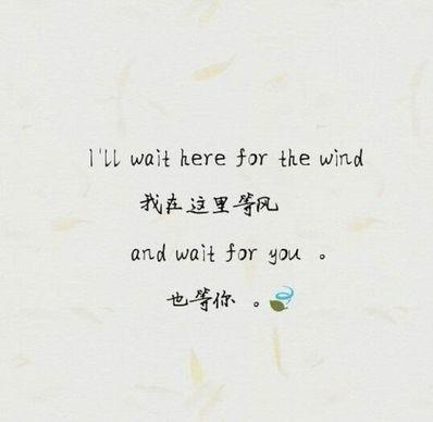 爱情小清新文字短句10 暖心小清新爱情短语